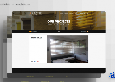 JC Blinds And Shades = Website + Graphic Design + Video Editing
