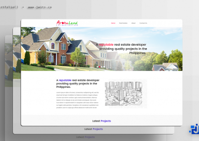 Aroha Land Corporation = Website Design