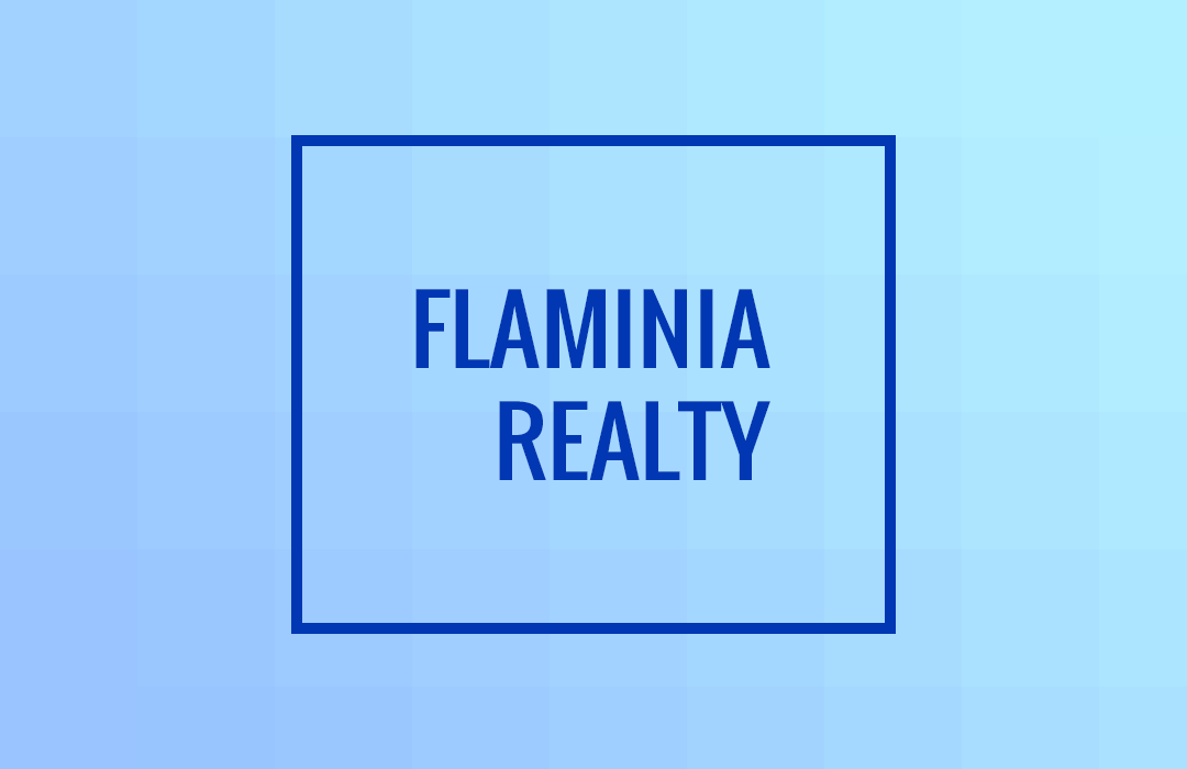 Flaminia Realty = Sales + Agents + Commission Management