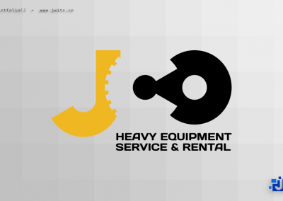 Logo Design = JCO Heavy Equipment & Rental