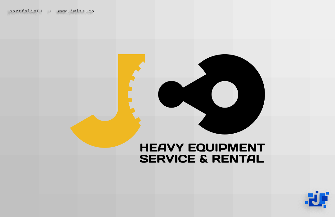 Logo Design = JCO Heavy Equipment & Rental