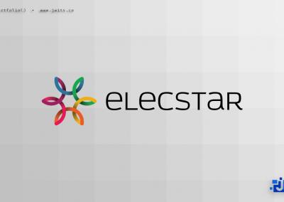 Logo Design = Elecstar