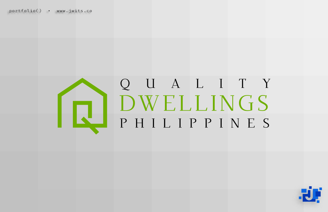 Logo Design = Quality Dwellings Philippines