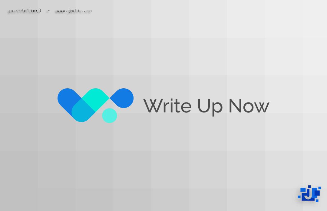 Logo Design = Write Up Now