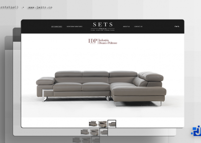 SETS Italia = Website + Graphic Design
